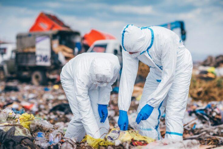 Gdzie wyrzucać odpady podczas pandemii?